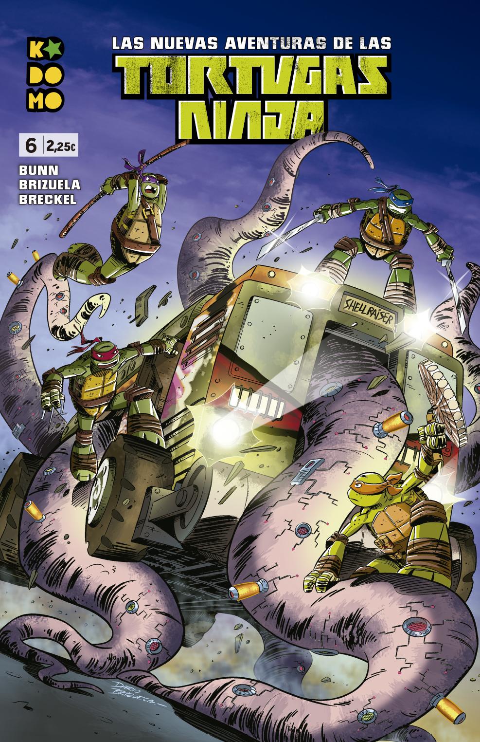 Las nuevas aventuras de las Tortugas Ninja núm. 06
