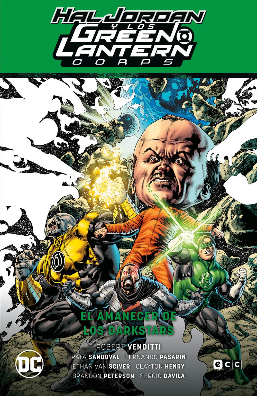 Hal Jordan y los Green Lantern Corps vol. 04: El amanecer de los Darkstars (GL Saga Renacimiento 4)