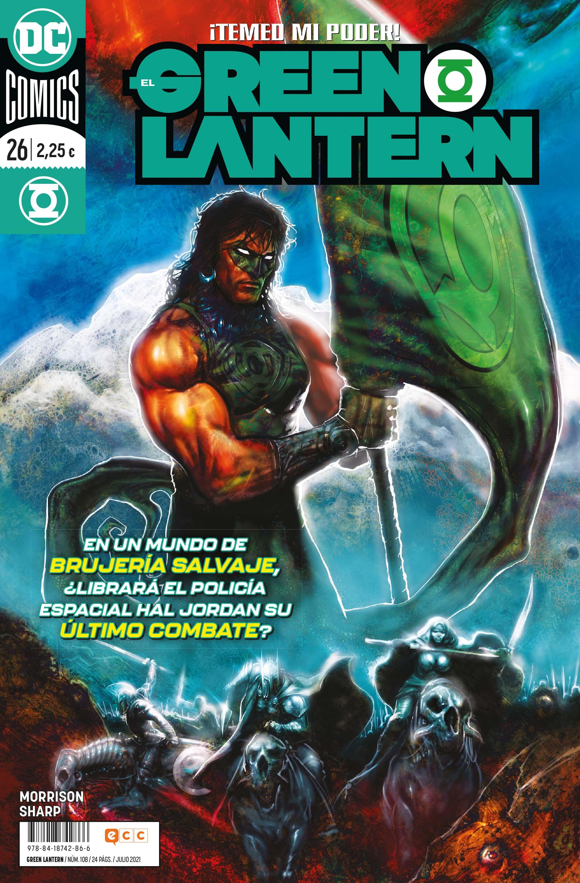 El Green Lantern núm. 108/26