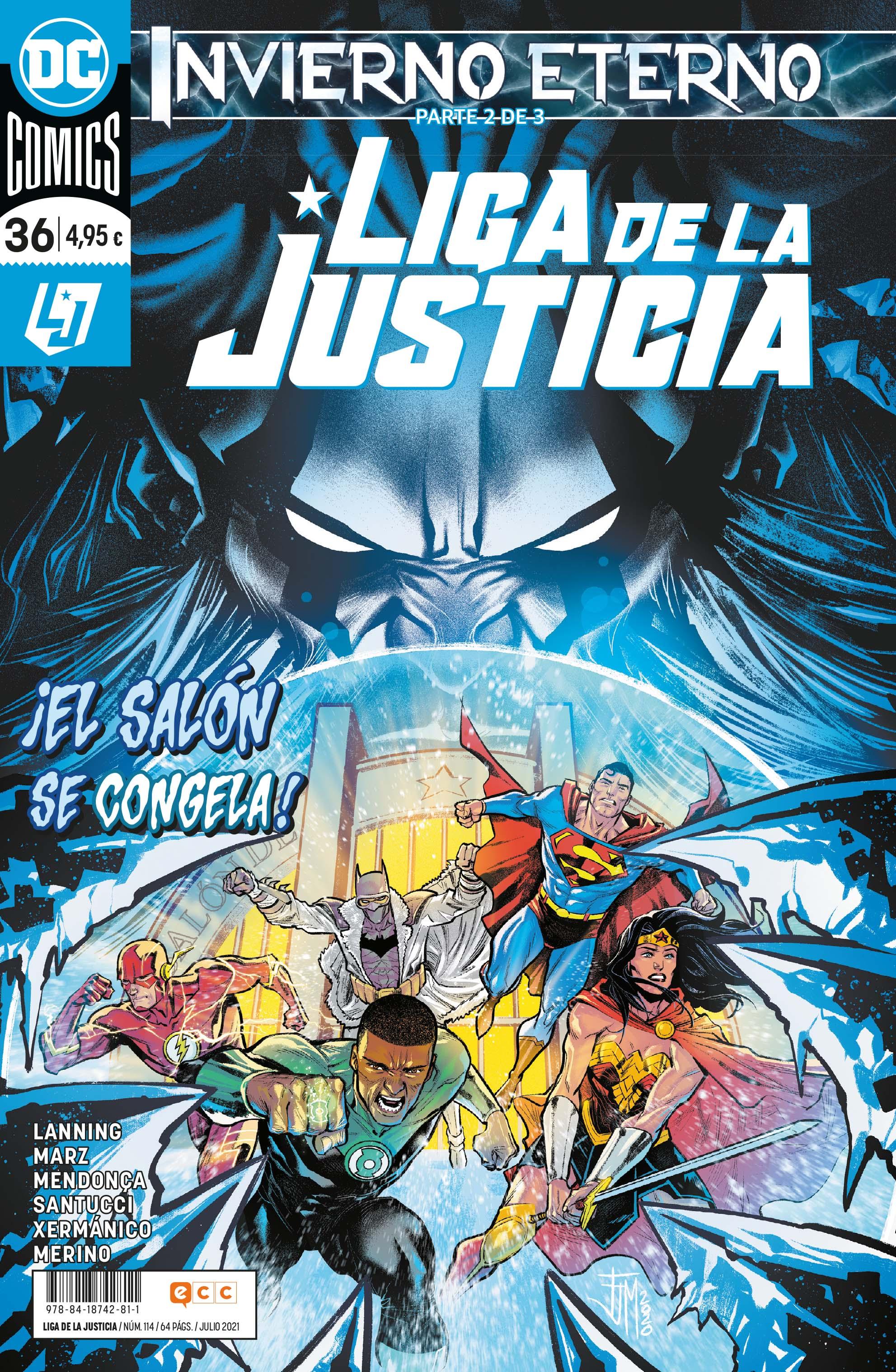 Liga de la justicia núm. 114/36