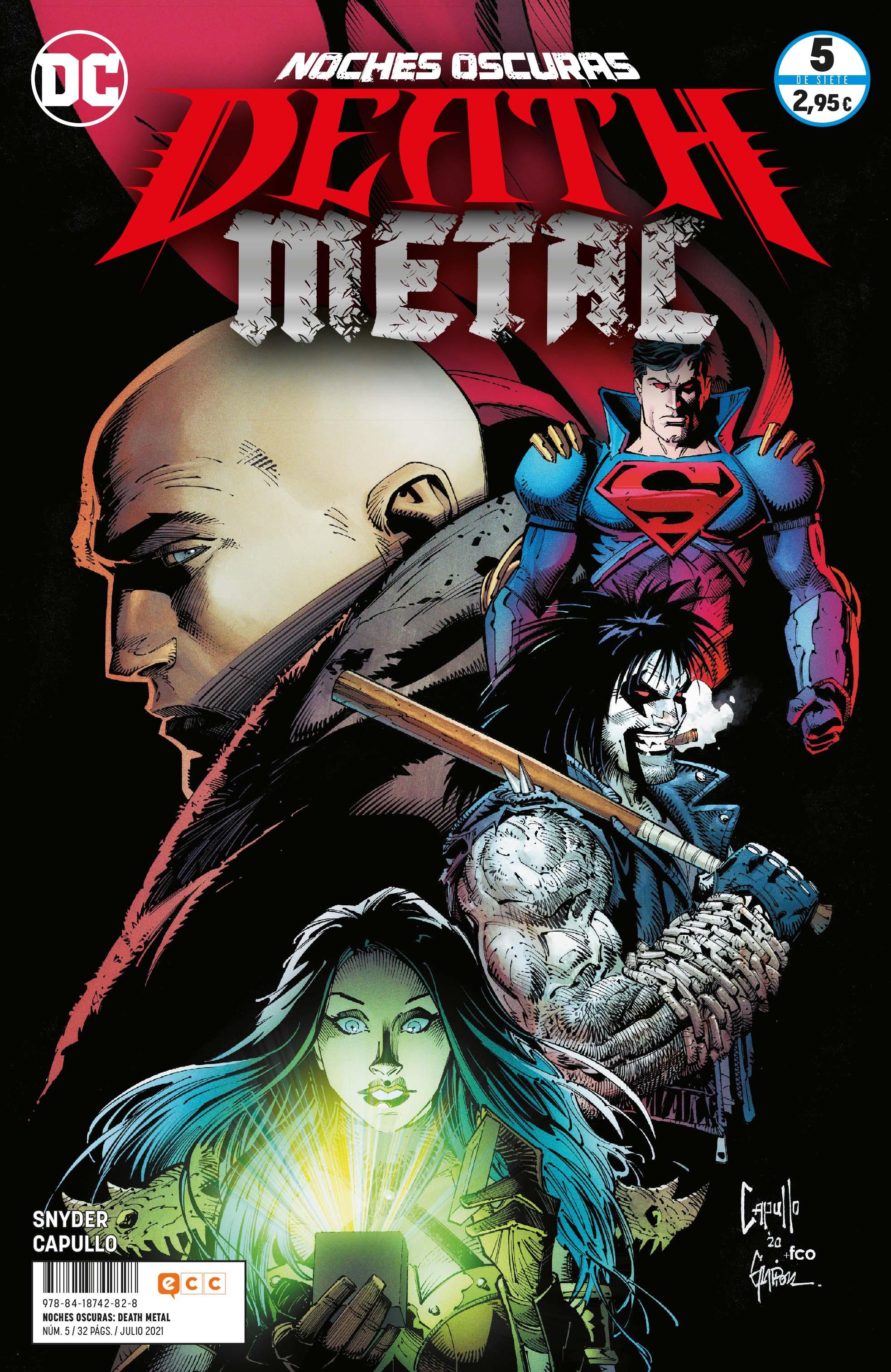 Noches oscuras: Death Metal núm. 05 de 7