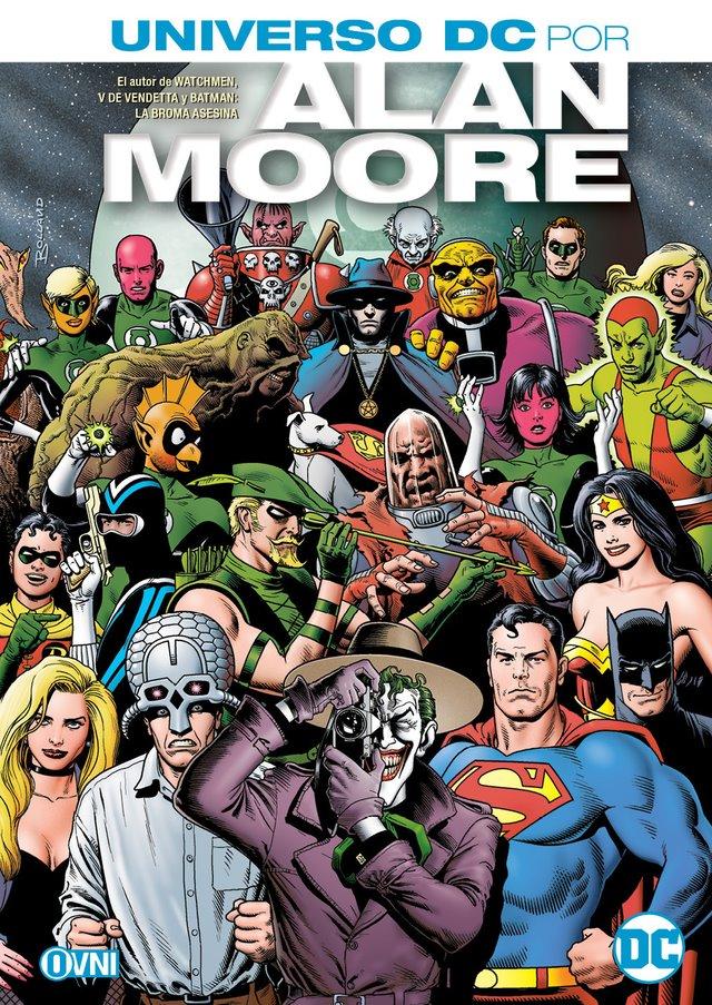 OVNIPRESS - ESPECIALES - UNIVERSO DC: POR ALAN MOORE