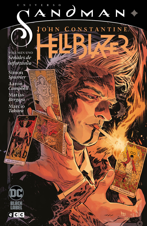 Universo Sandman: John Constantine Hellblazer vol. 1 Señales de infortunio