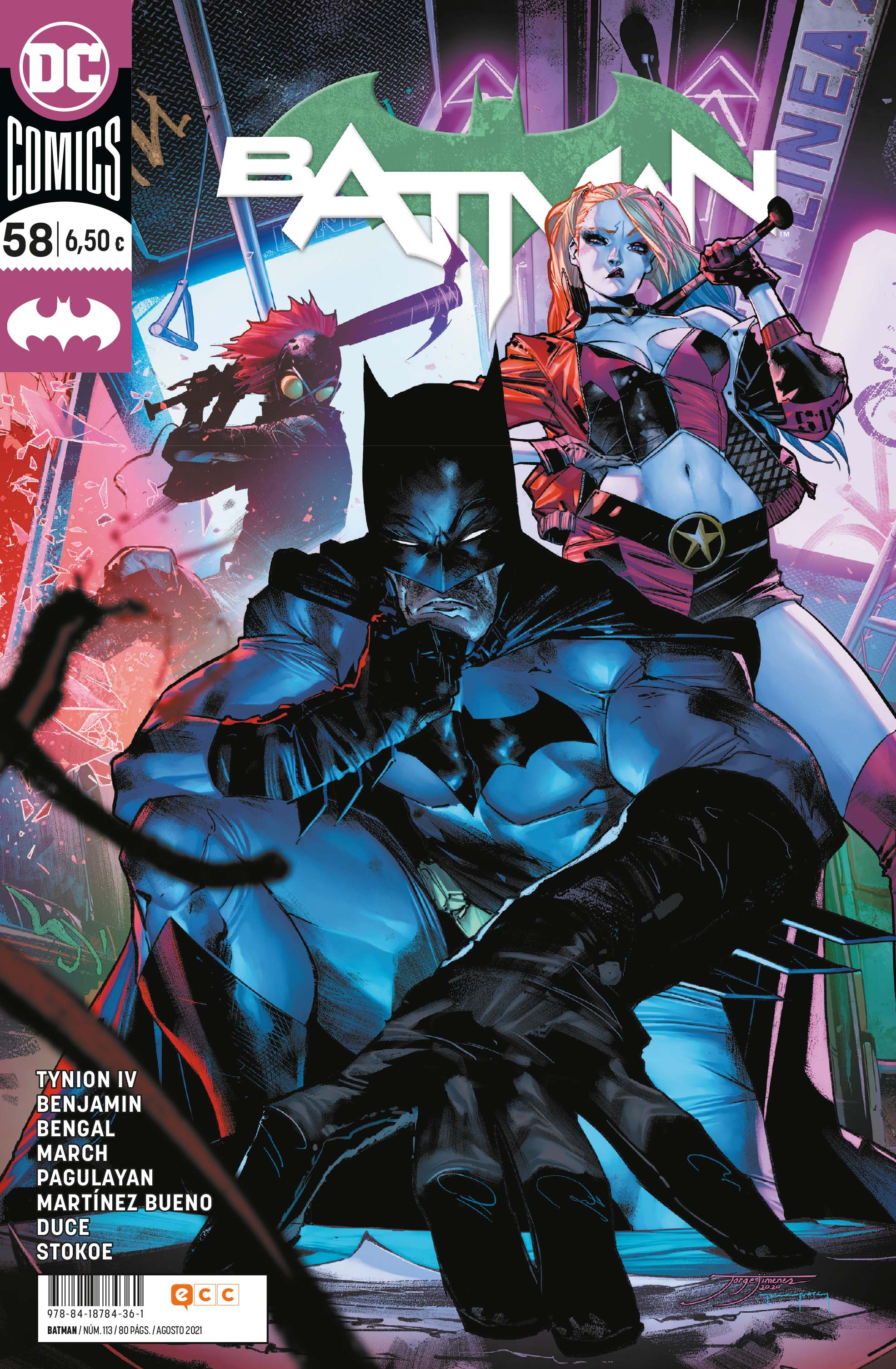 Batman núm. 113/58