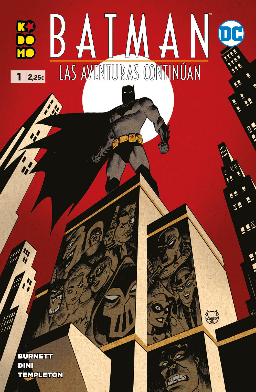 Batman: Las aventuras continúan núm. 01