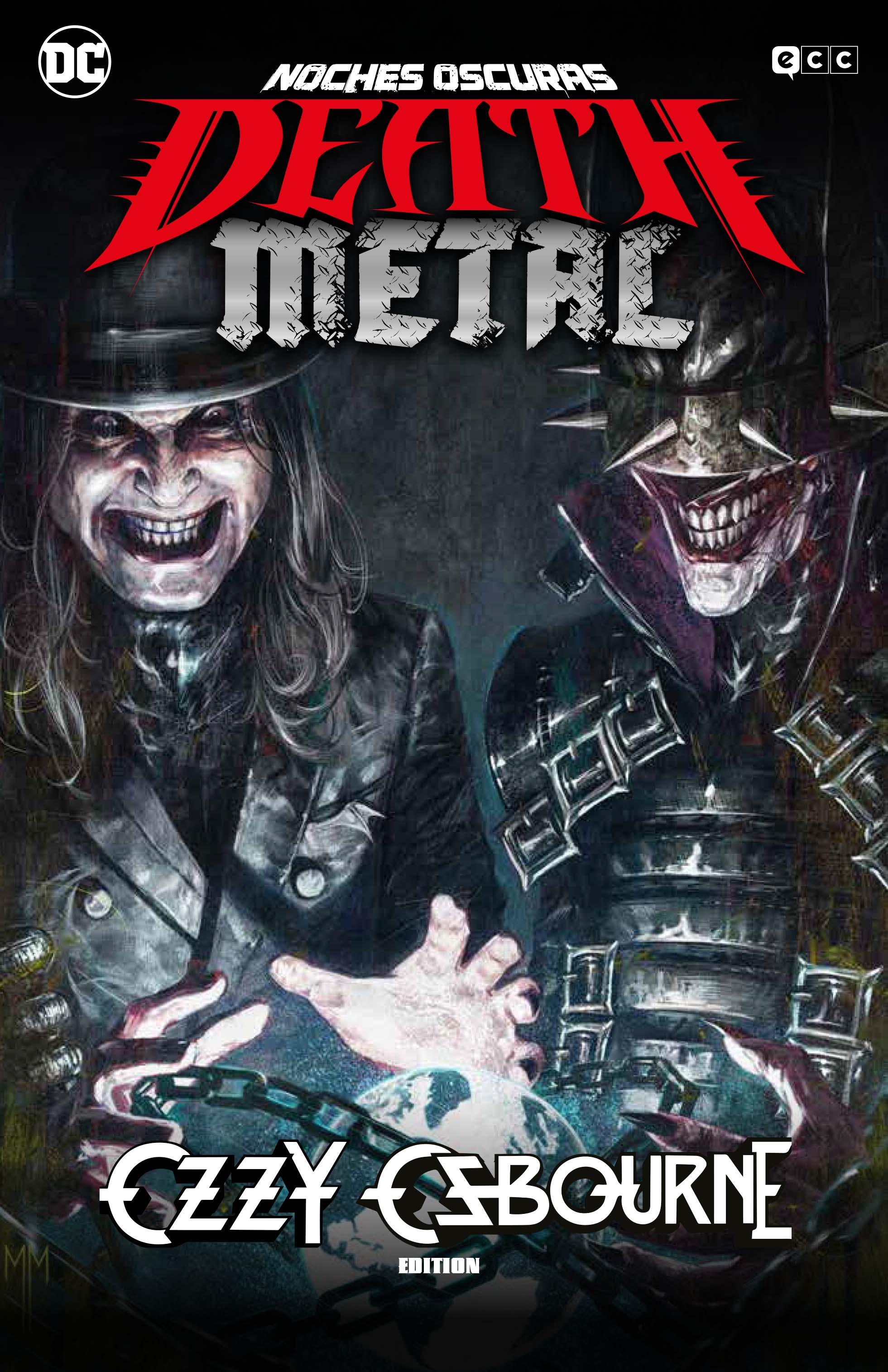 CARTONE Noches oscuras: Death Metal núm. 07 Band edition Ozzy Osbourne