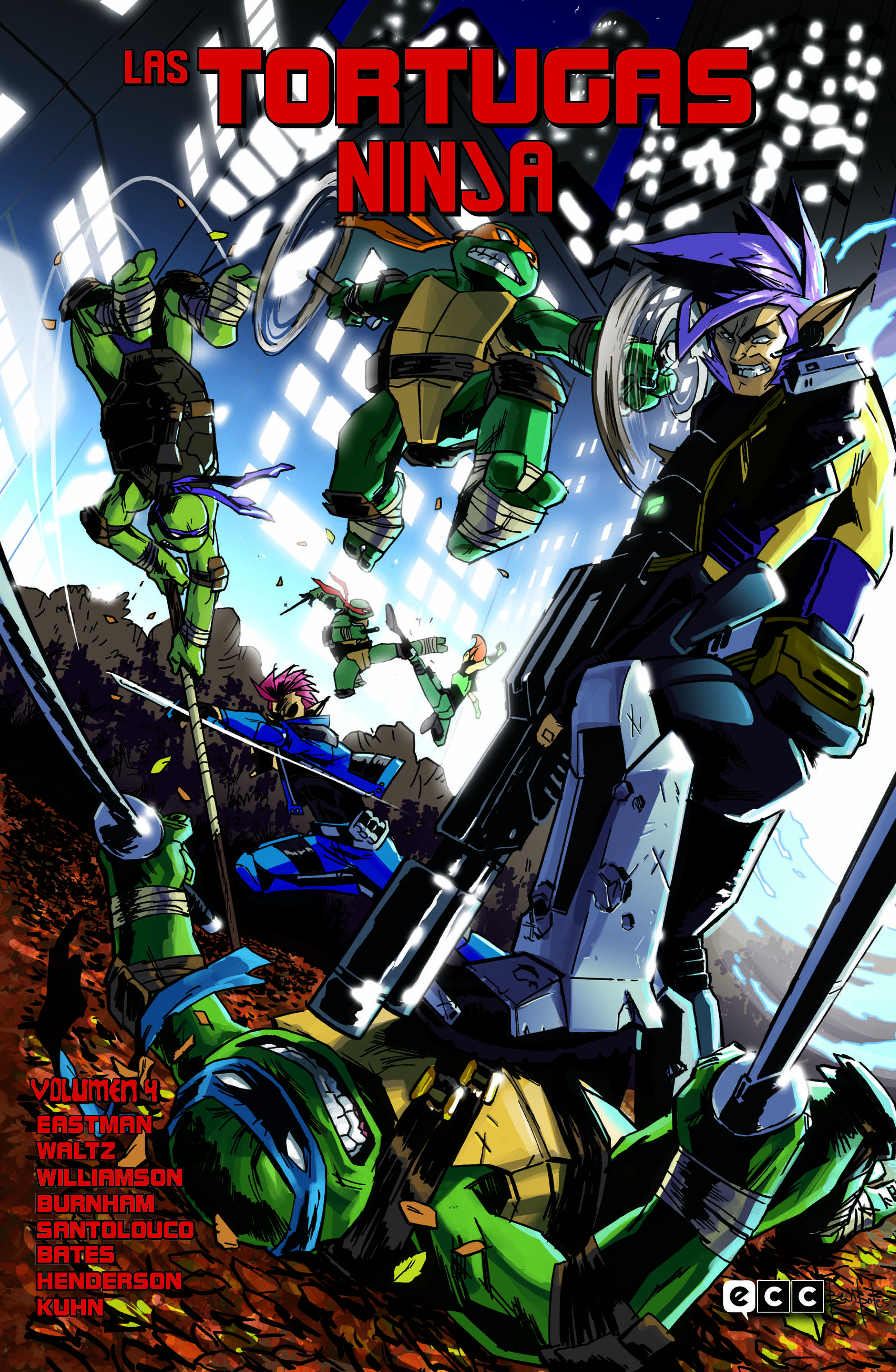Las Tortugas Ninja vol. 04