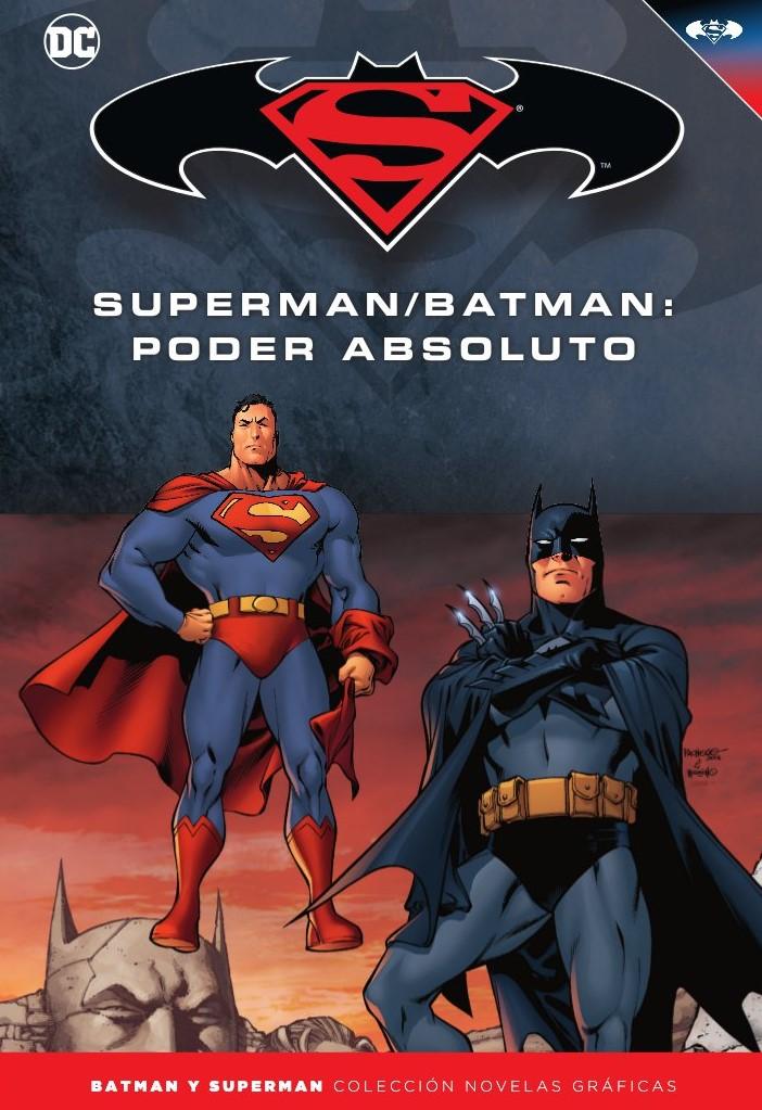 Batman y Superman - Colección Novelas Gráficas número 21: Poder absoluto