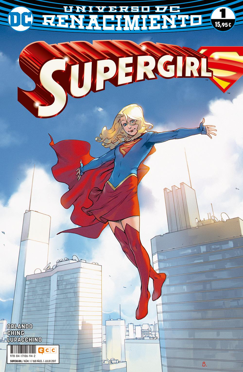 Supergirl núm. 01 (Renacimiento)
