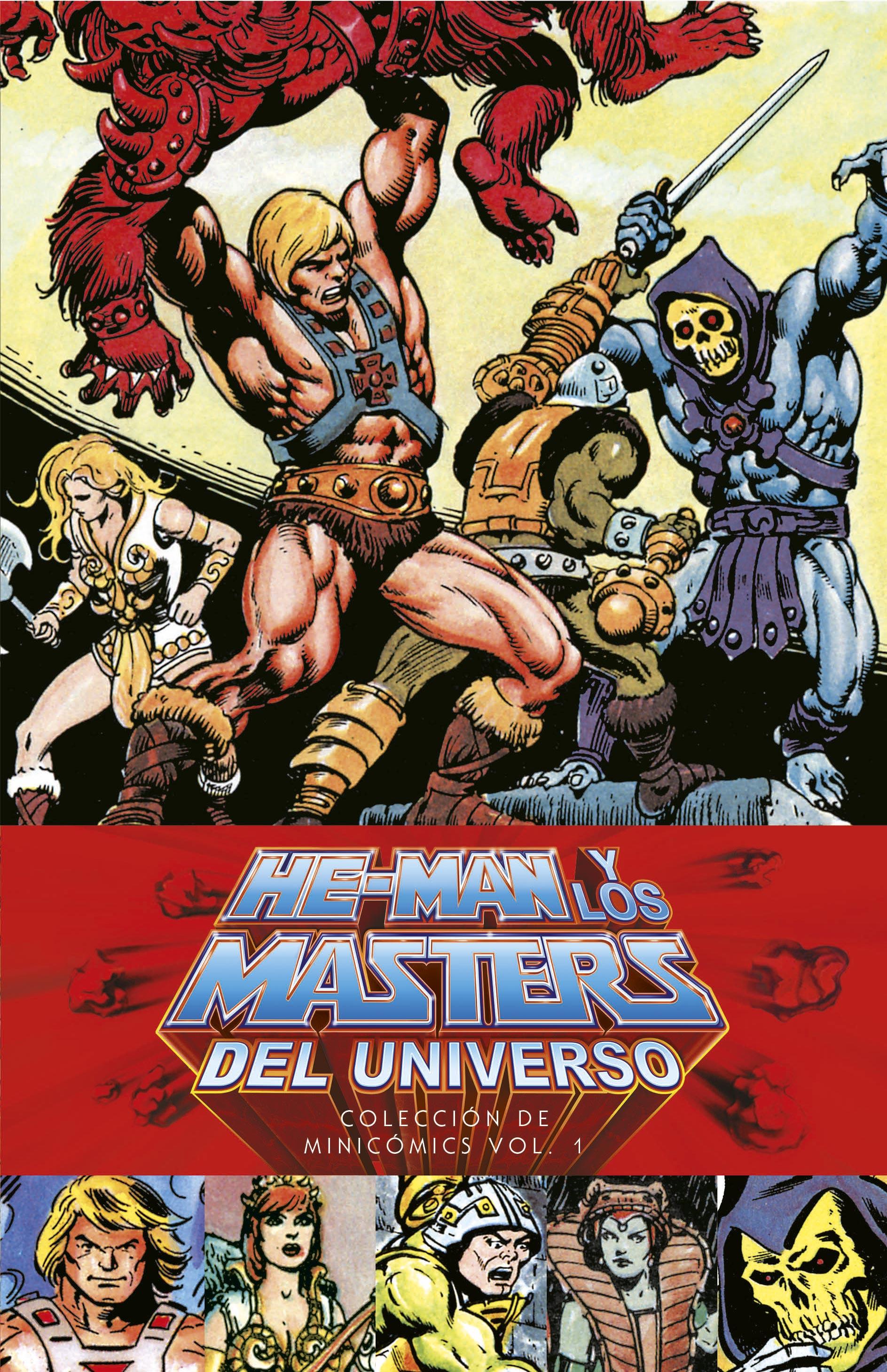 Segunda Mano: He-Man y los Masters del Universo: Colección de minicómics vol. 01 (de 3)