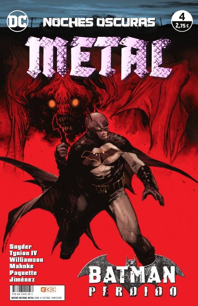 Noches Oscuras: Metal núm. 04
