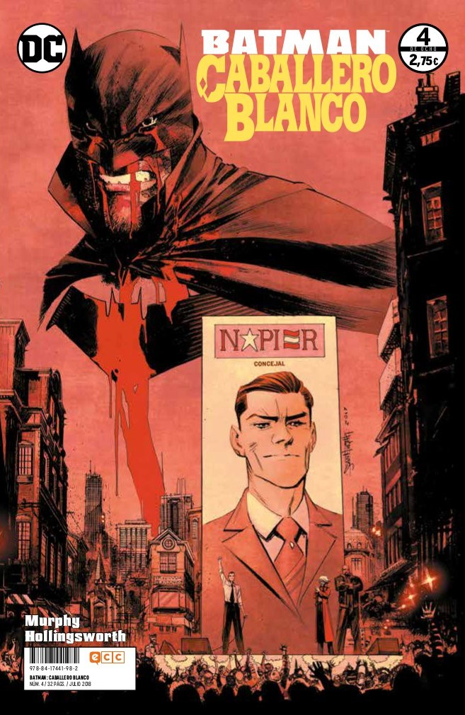 Batman: Caballero Blanco núm. 04