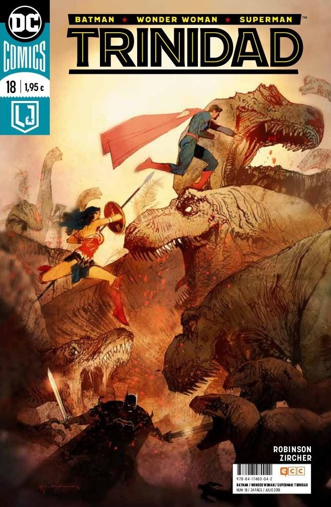 Batman/Wonder Woman/Superman: Trinidad núm. 18