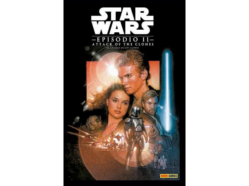 Star wars ATAQUE DE LOS CLONES EPISODIO 2