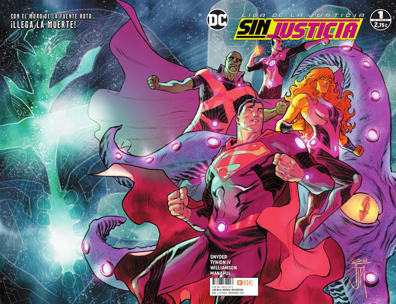Liga de la Justicia: Sin justicia núm. 01 (de 4)