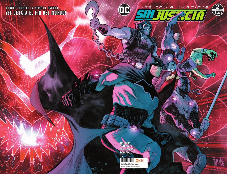Liga de la Justicia: Sin justicia núm. 02