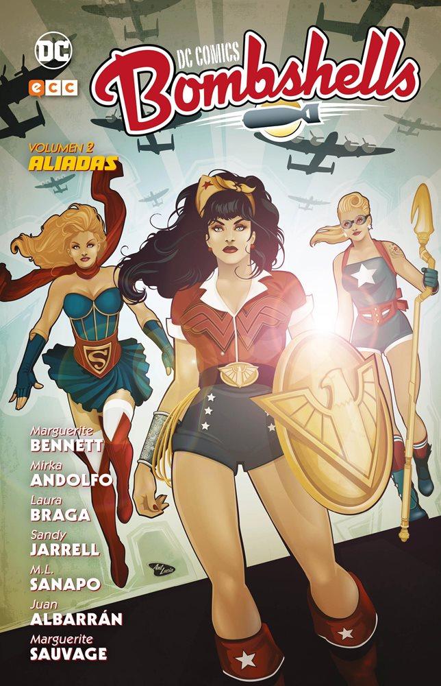 DC Comics: Bombshells Vol. 2: Aliadas