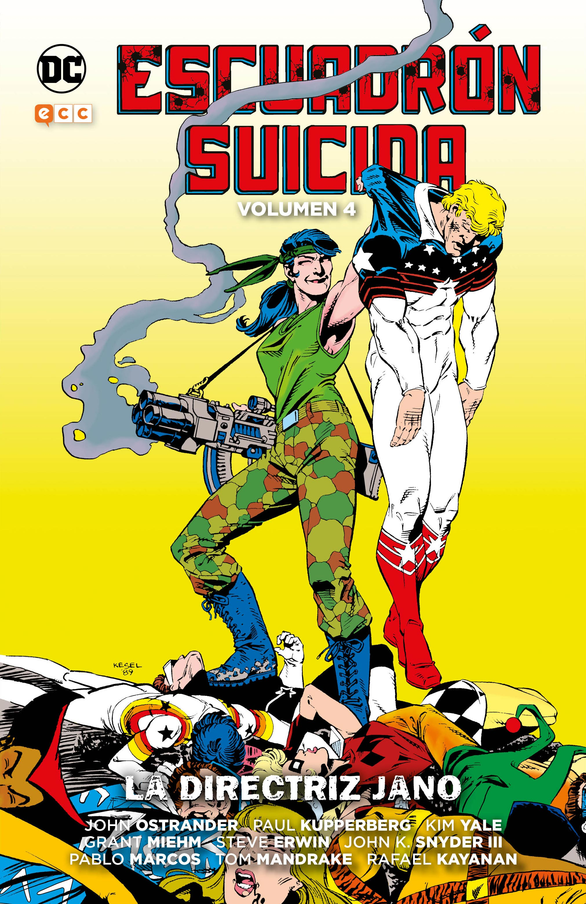 Escuadrón Suicida Vol. 4: La directriz Jano