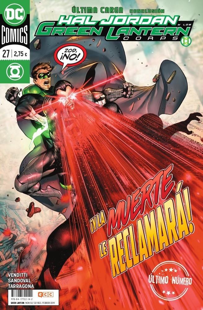 Green Lantern núm. 82/27 (último Número)
