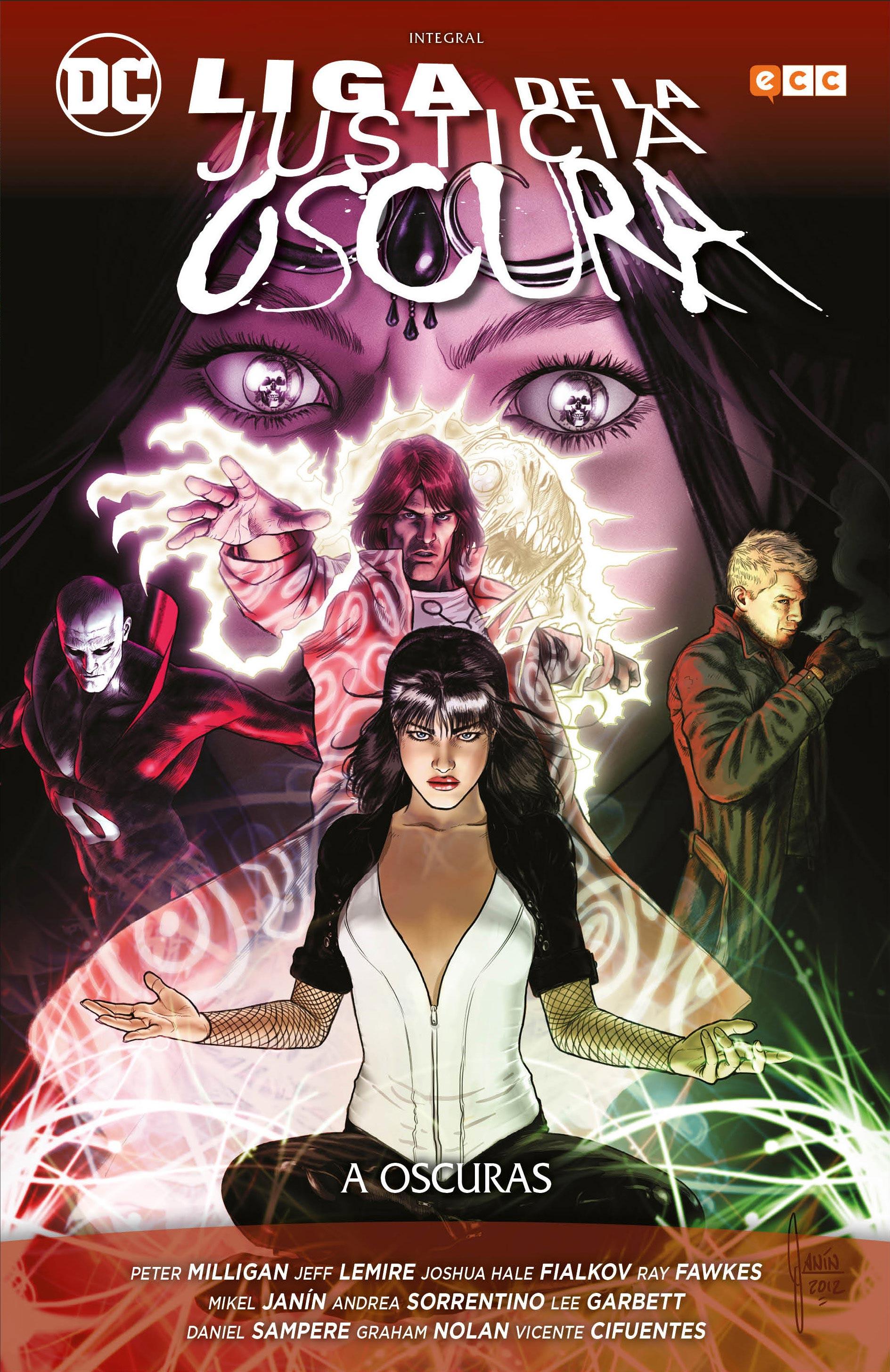Liga de la Justicia Oscura: A oscuras - Integral