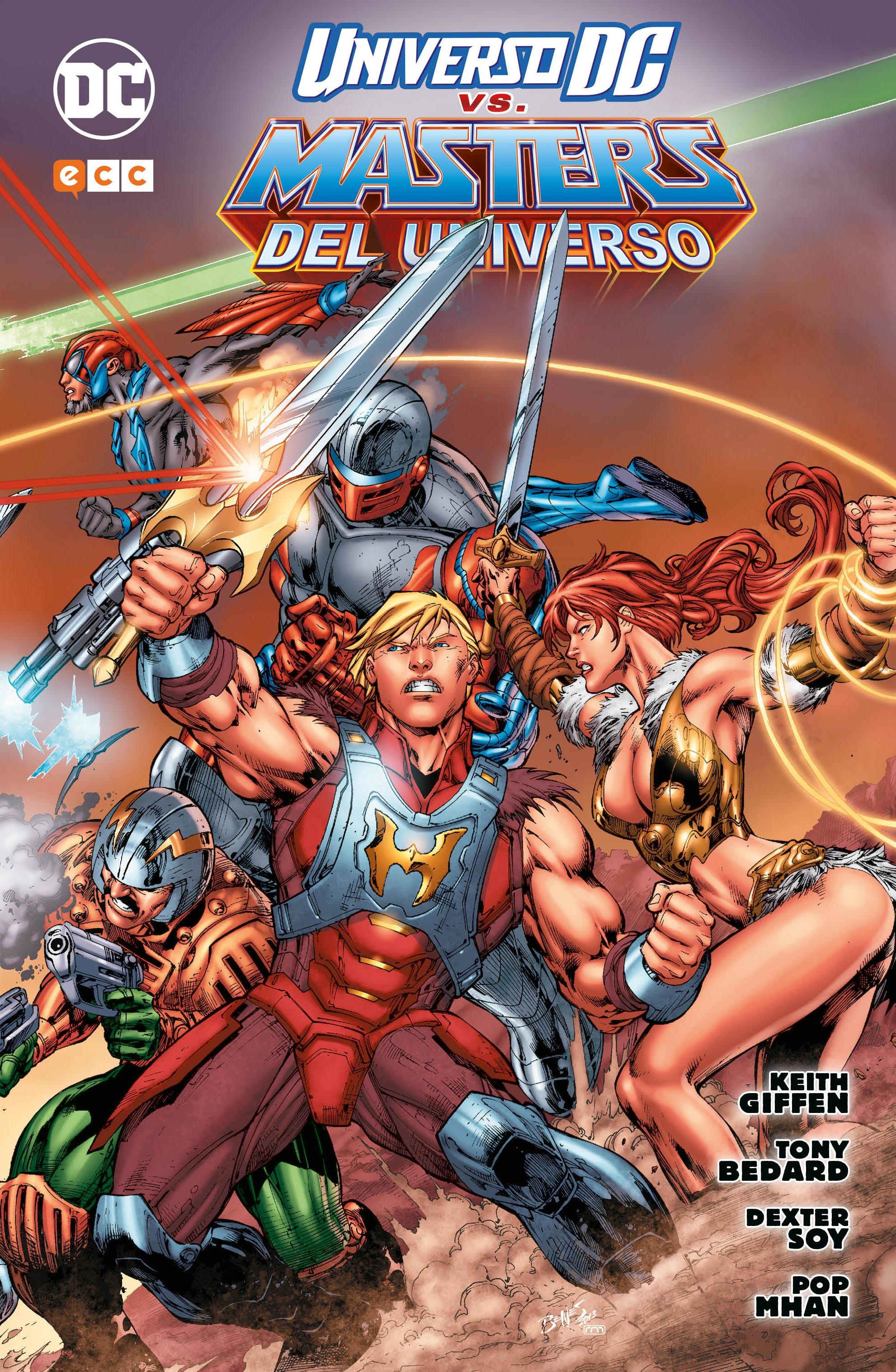 El Universo DC contra Los Masters del Universo