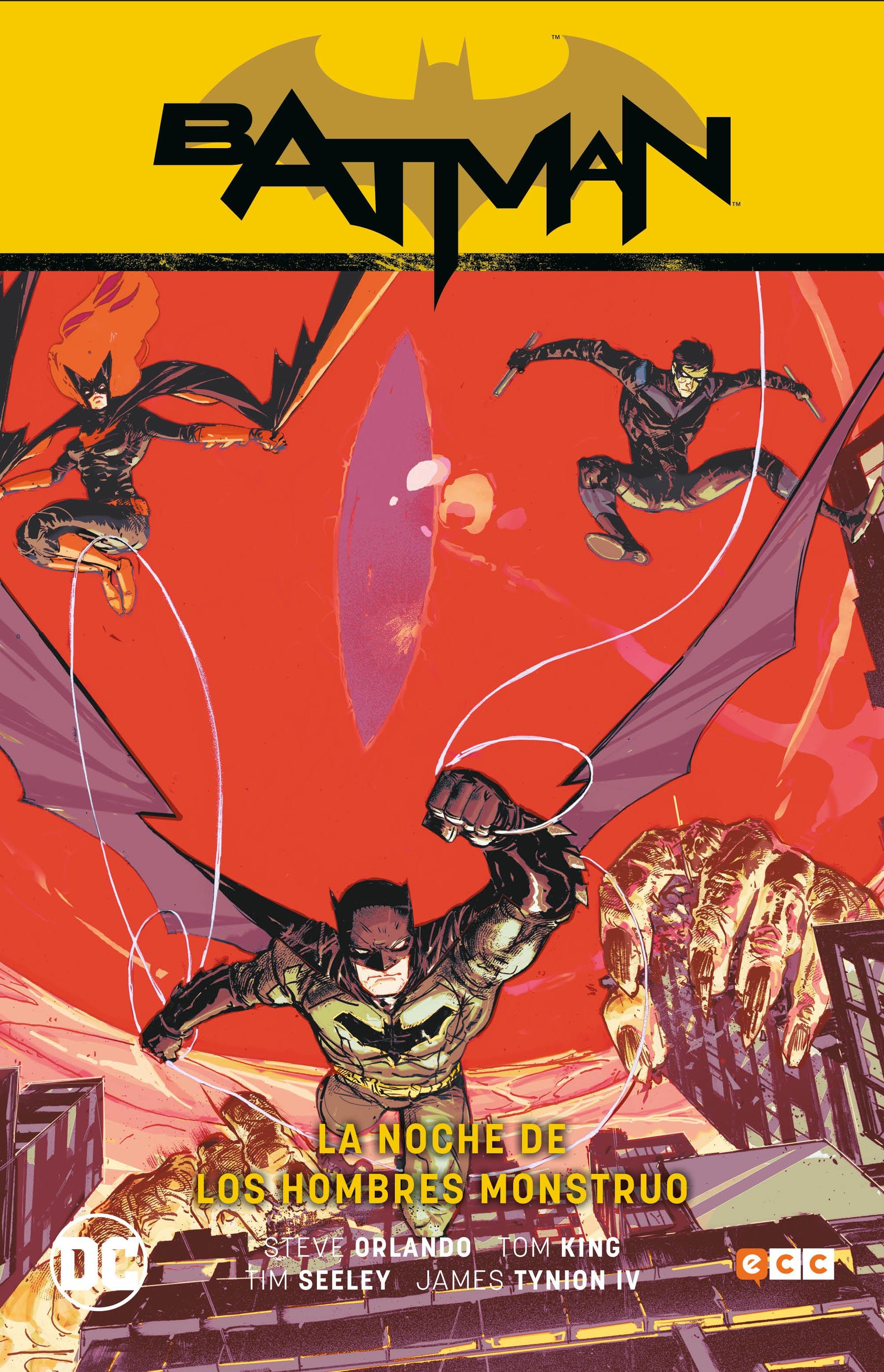 Batman Vol. 2: La noche de los hombres monstruo (Rebirth)