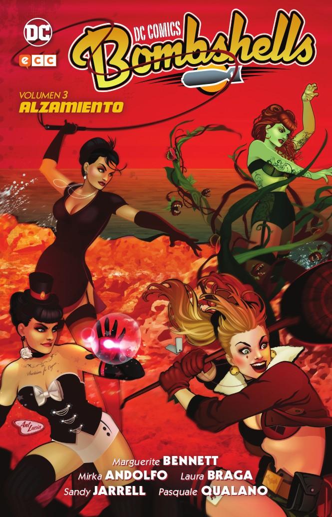 DC Comics Bombshells Vol. 03: Alzamiento