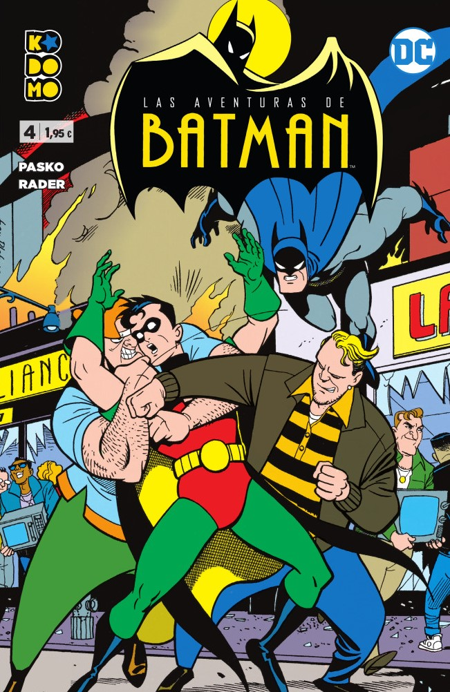 Las aventuras de Batman núm. 04