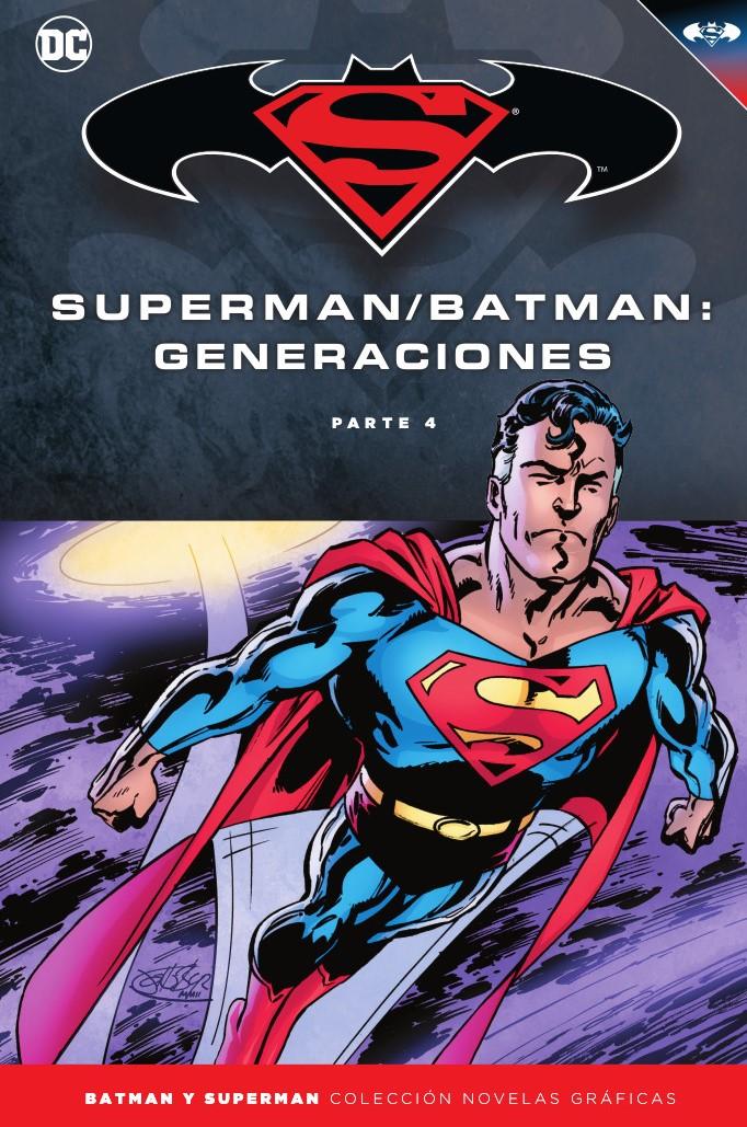 Batman y Superman - Colección Novelas Gráficas núm. 60: Batman/Superman: Generaciones (Parte 4)