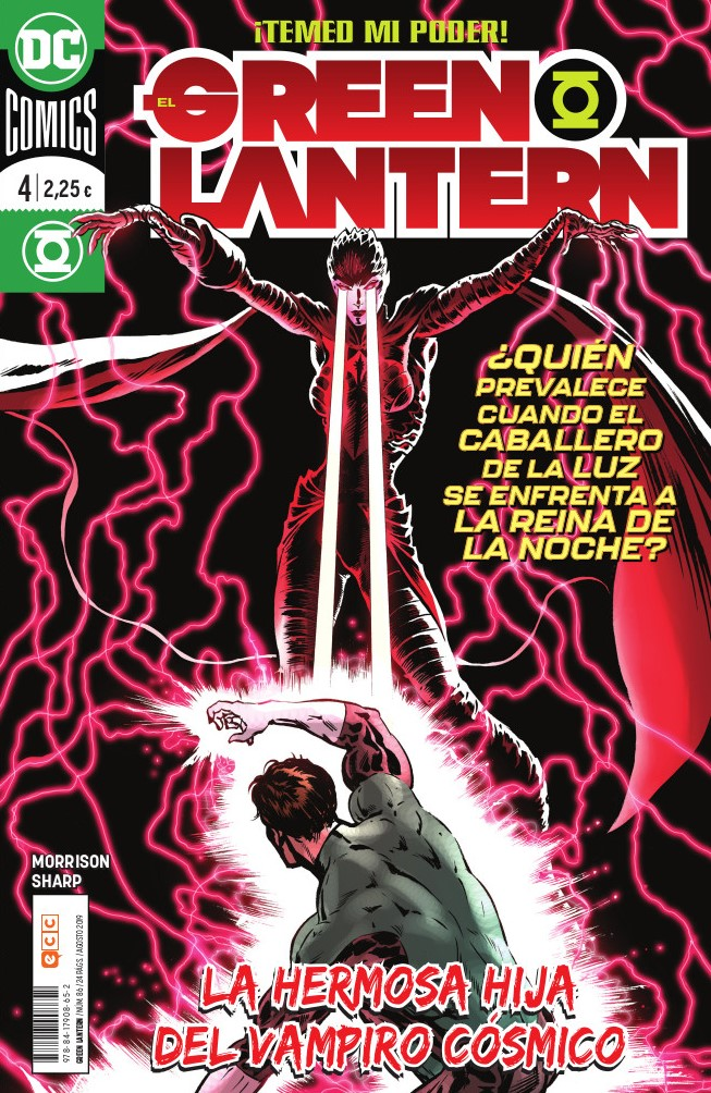 El Green Lantern núm. 86/4 (Grant Morrison)
