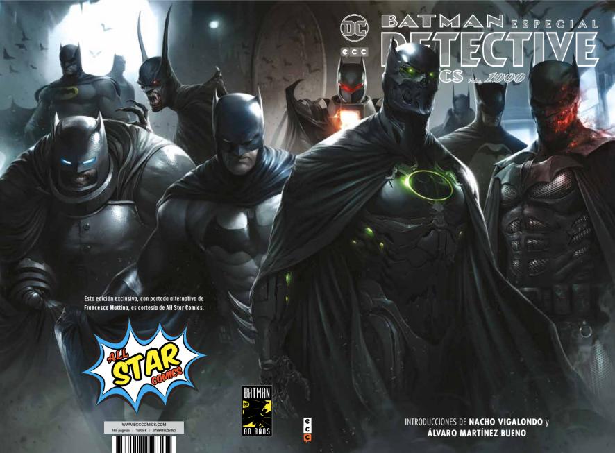 Batman: Especial Detective Comics 1.000 Portada Especial All Star Comics Tienda