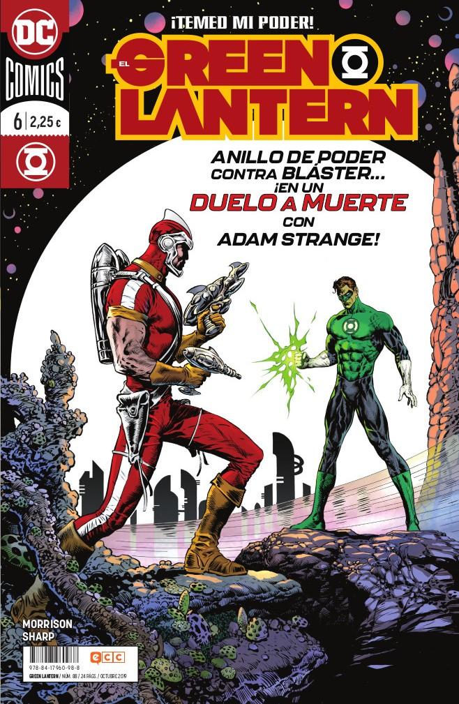El Green Lantern núm. 88/6 (Grant Morrison)