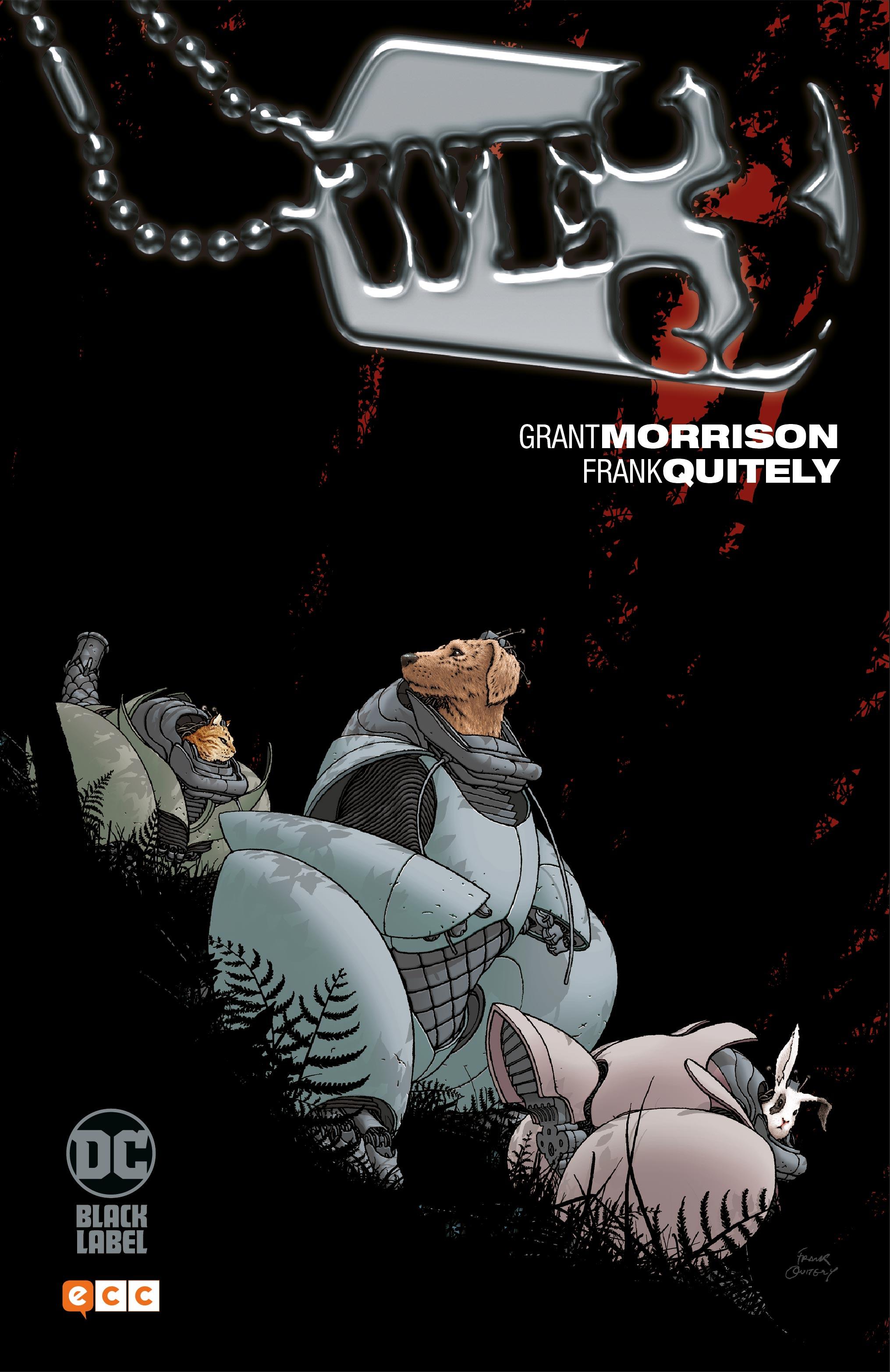 Biblioteca Grant Morrison: We3 (nueva edición)