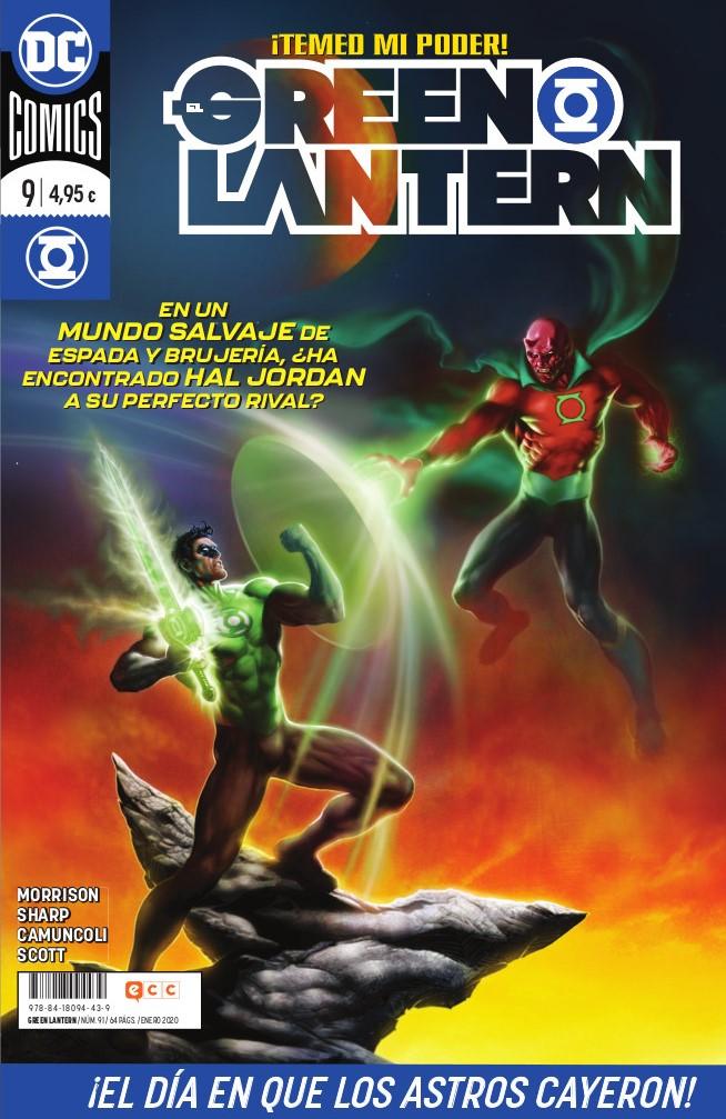 El Green Lanternnúm. 91/9 (Grant Morrison)