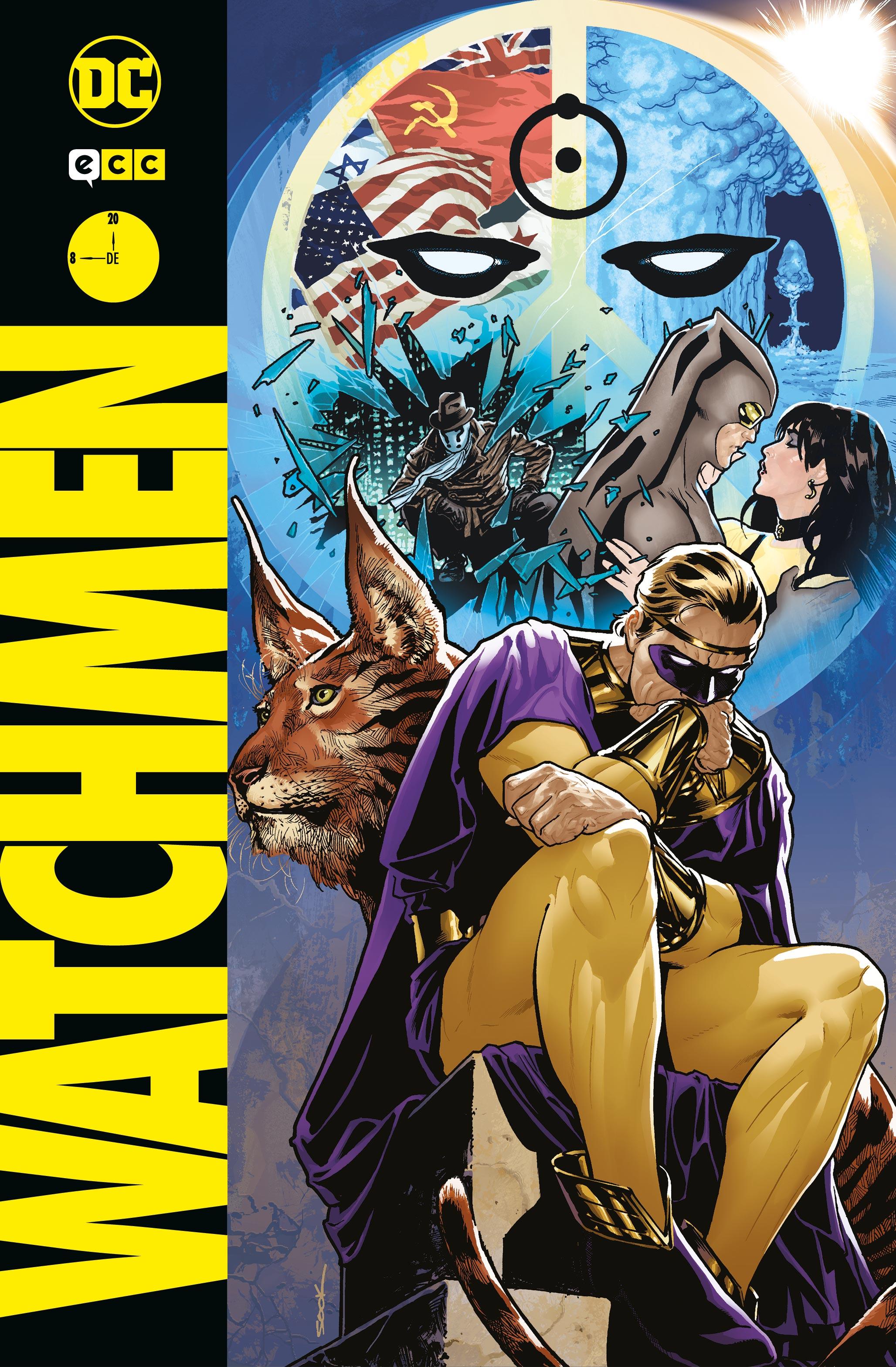 Coleccionable Watchmen núm. 08