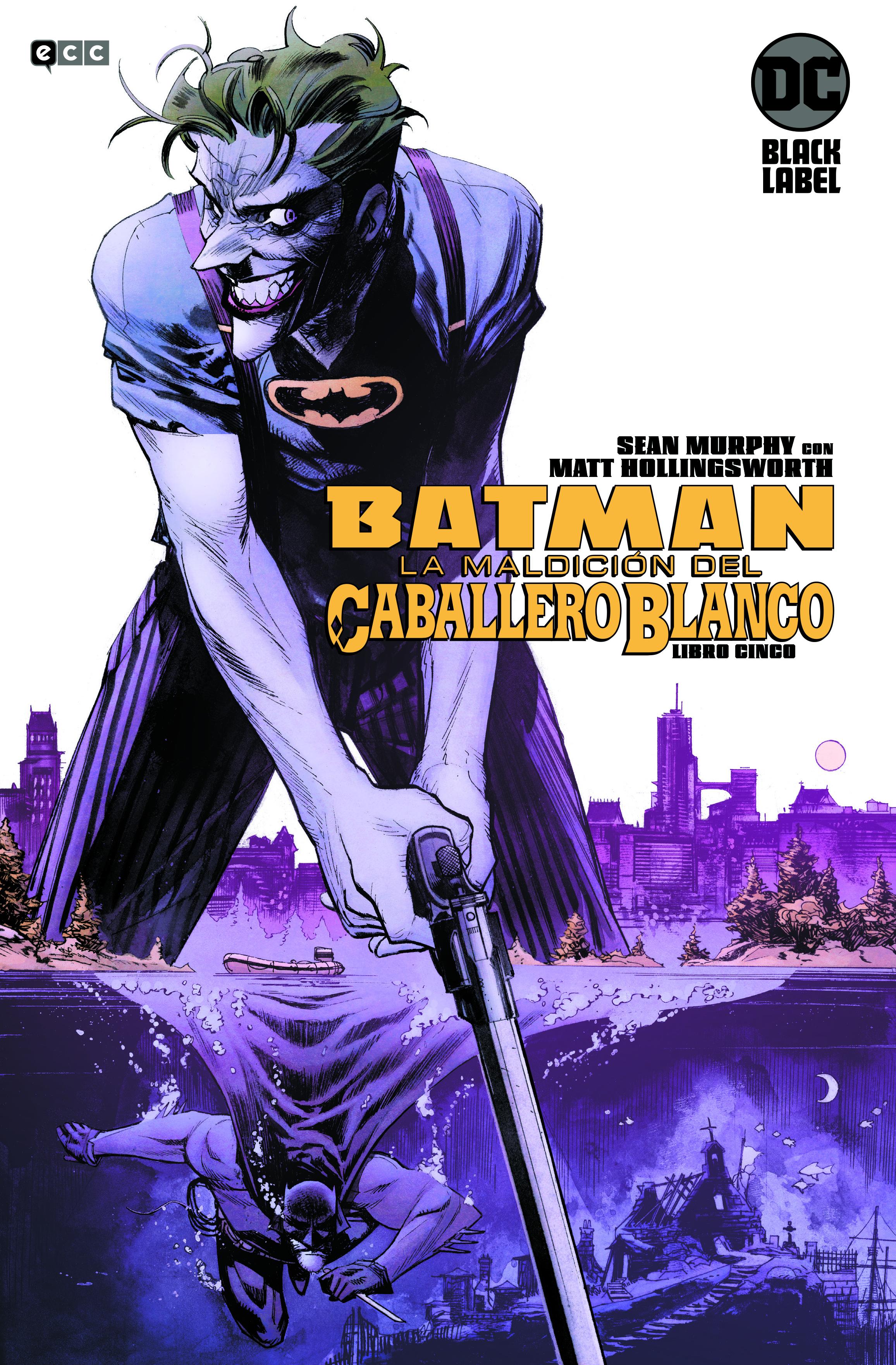 Batman: La maldición del Caballero Blanco núm. 05
