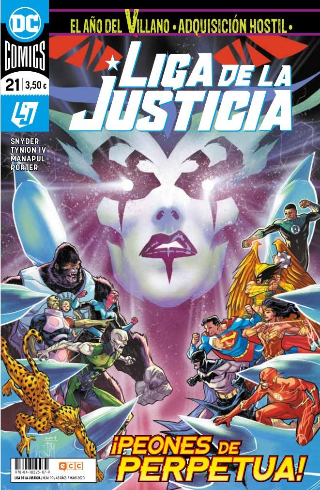 Liga de la justicia núm. 99/21