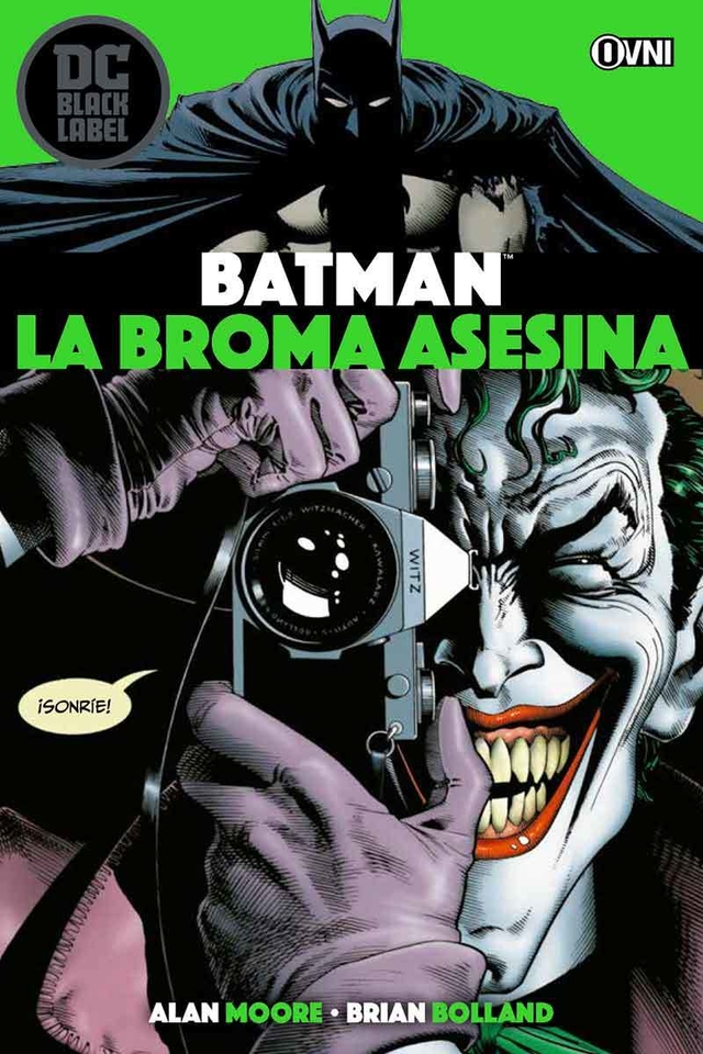 BLACK LABEL - BATMAN: La broma asesina OVNIPRESS