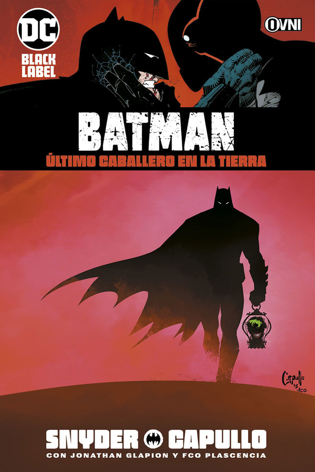 BLACK LABEL - BATMAN: Último caballero en la tierra OVNIPRESS