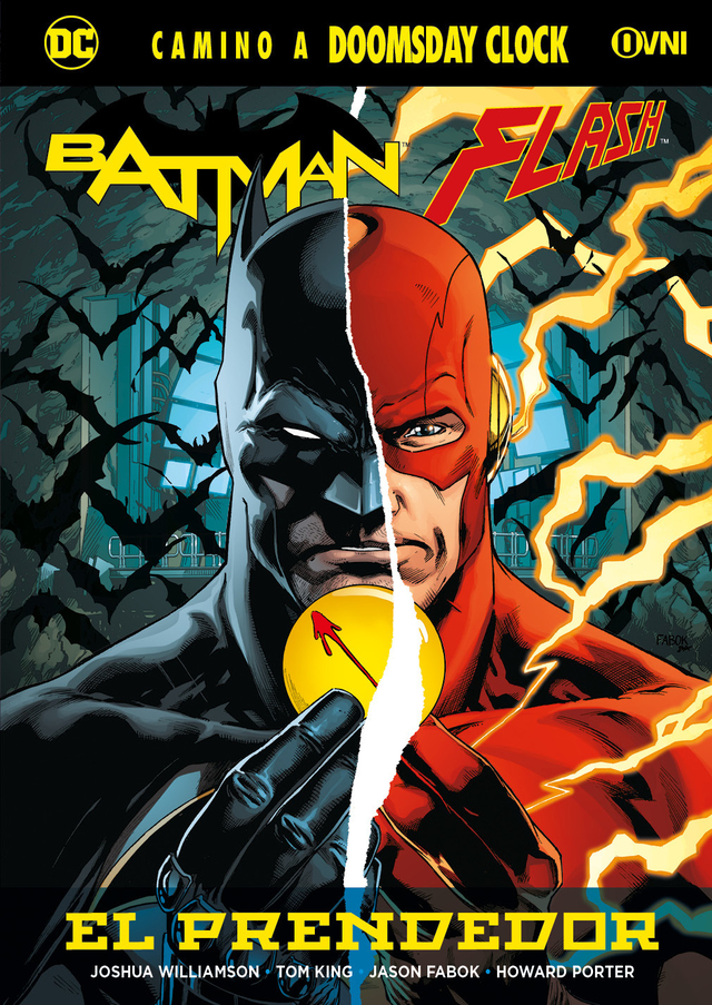 BATMAN/FLASH: El Prendedor OVNIPRESS