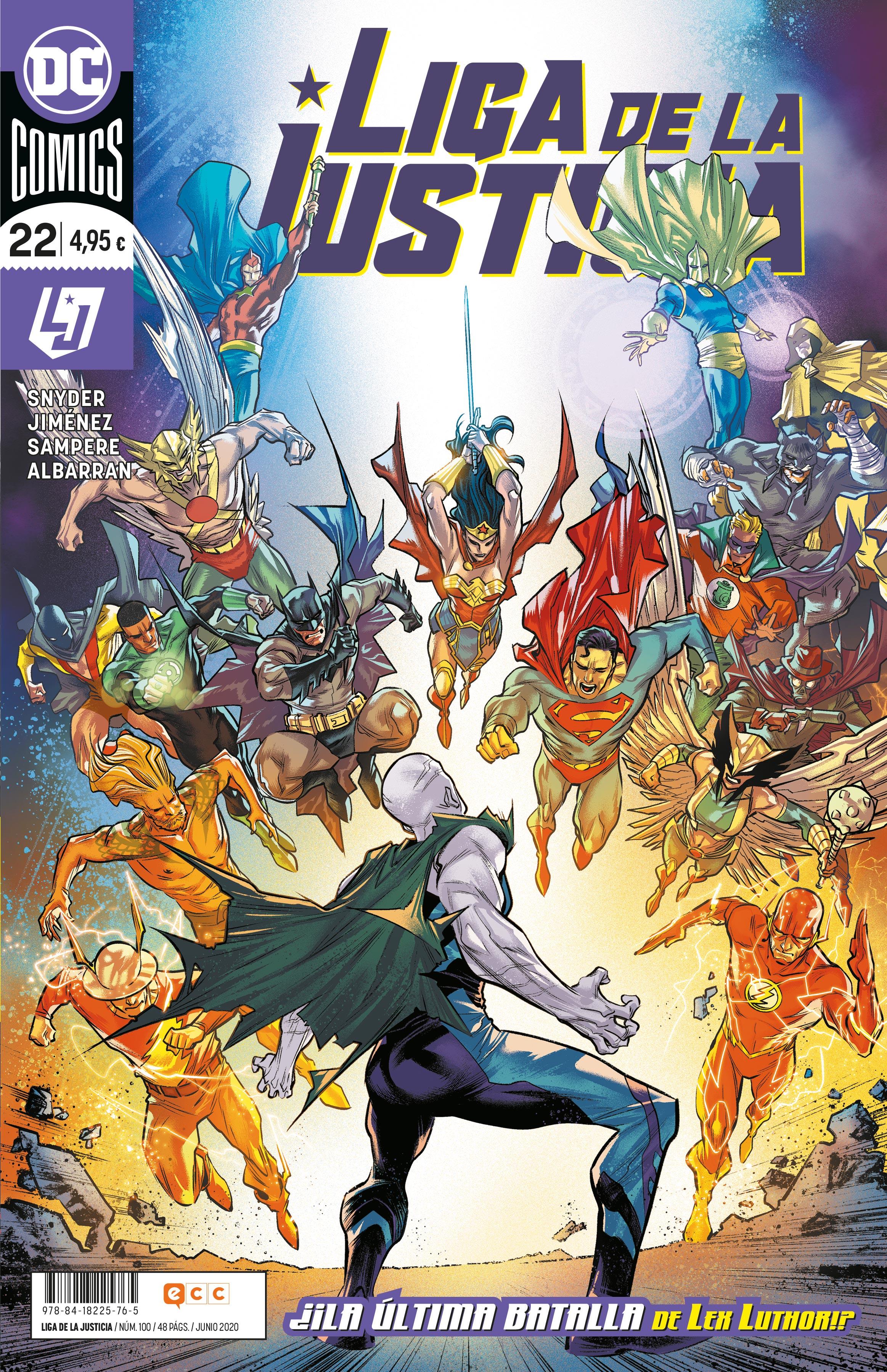 Liga de la Justicia núm. 100/ 22