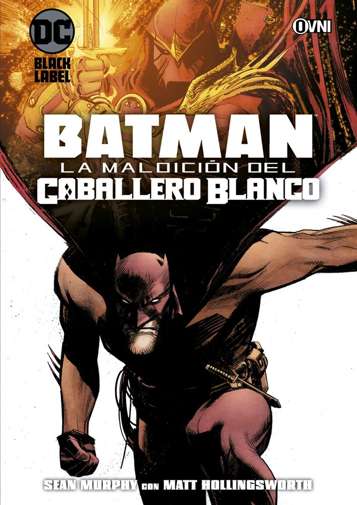 DC - BLACK LABEL - BATMAN: LA MALDICIÓN DEL CABALLERO BLANCO