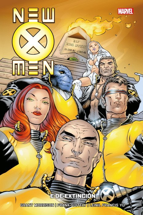 NEW X-MEN 1. E DE EXTINCIÓN NEW X-MEN