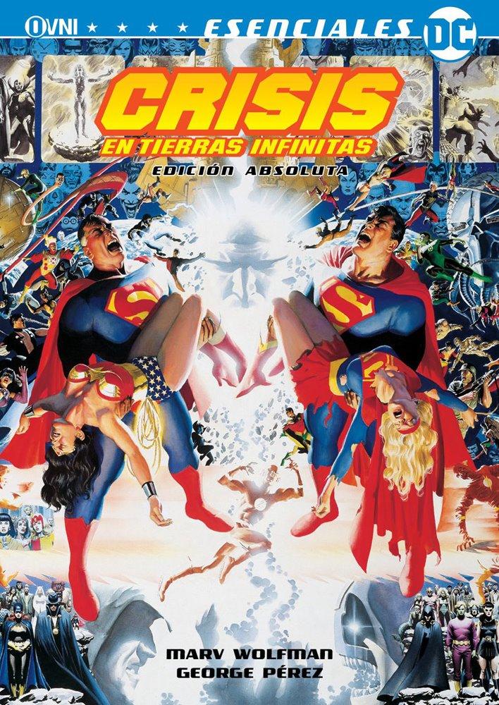 DC - ESENCIALES DC: CRISIS EN TIERRAS INFINITAS EDICION ABSOLUTA