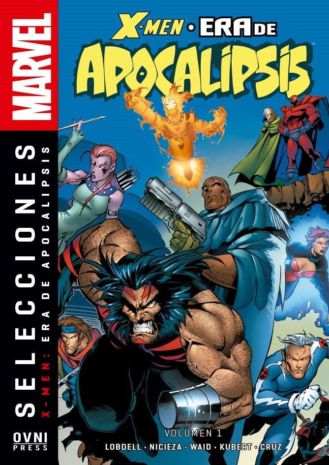 Selecciones Marvel -X-Men La Era de Apocalipsis Volumen 01