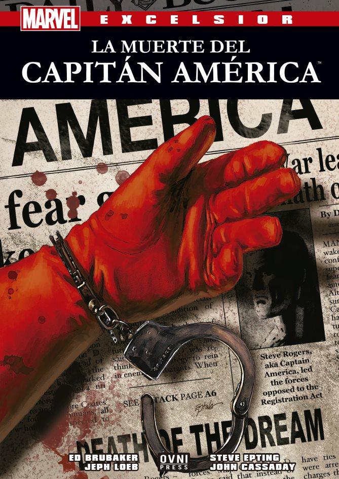 MARVEL-EXCELSIOR: La muerte del Capitán America