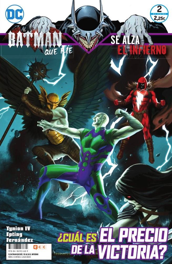 El Batman que ríe: Se alza el infierno núm. 02 de 4