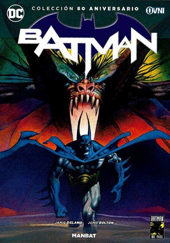 DC - ESPECIALES -Colección 80 Aniversario Batman Nº 08 (13): Man-Bat