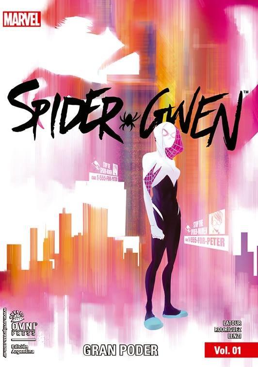 MARVEL-SPIDER GWEN-TPB #01 - GRAN PODER