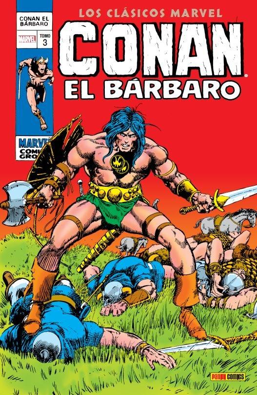 LOS CLÁSICOS DE CONAN EL BÁRBARO vol.03